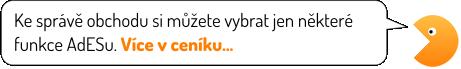 Adnimistrace e-shopu AdES